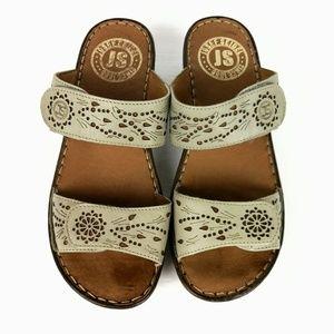 Joseph Siebel Comfort Sandals Straps Open Toe New